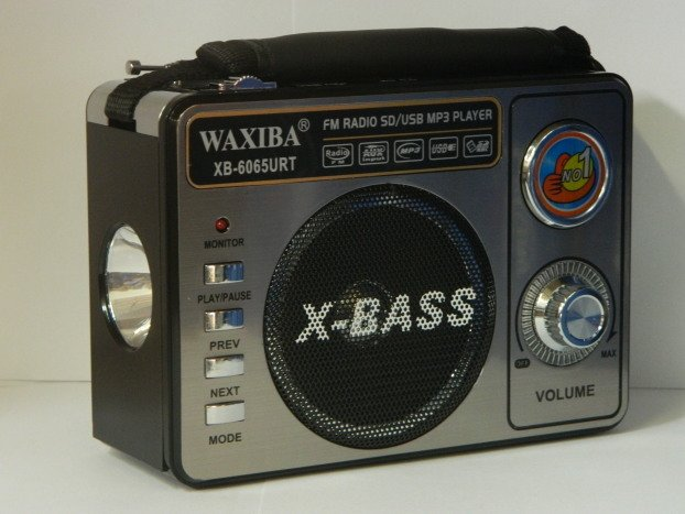 Radio portabil cu MP3 player WAXIBA XB-6062URT